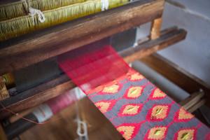 Handmade dhaka fabric | Where in the World Apparel