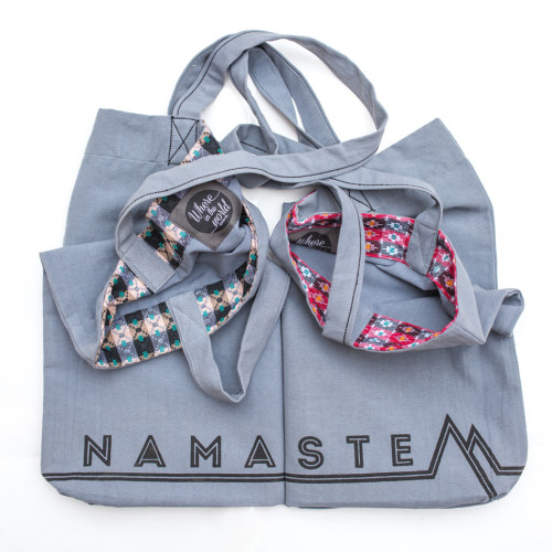 Never-ending Namaste Bag | Where in the World Apparel