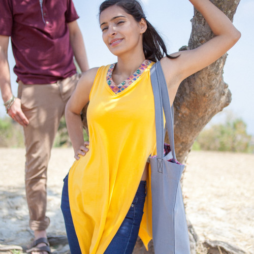 Temple Trotting Tunic Top | Where in the World Apparel